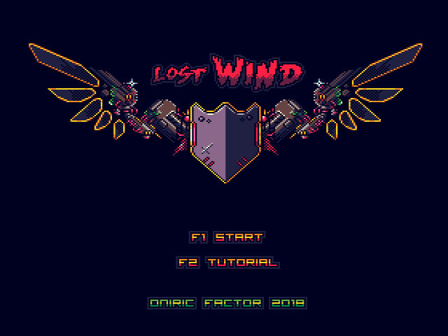 Menu Lost Wind: Version Platinum [WIP]